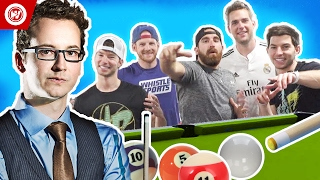 Dude Perfect | The Making Of Pool Trick Shots 2