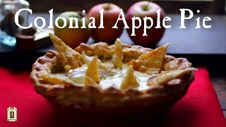 1773 Apple Pie - One of the Earliest Recipes