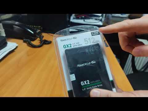 """Team GX2 512GB 2.5"""" SATAIII TLC (T253X2512G0C101)"""