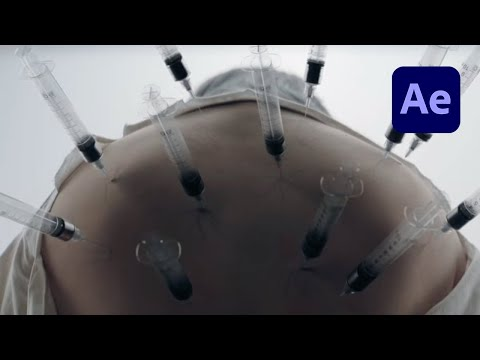 Billie Eilish Black Veins & Black Eyes Effect in After Effects