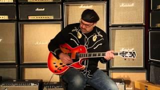 SOLD • Gibson Memphis ES-137 Custom  •  SN: 13001735