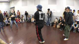 double legs vs 顔デカdash BEST32 FREESTYLE SIDE / RUN UP! × ばとる☆マギカ vol.2