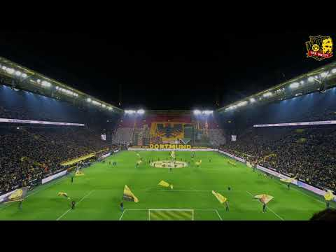 The process of making a Tifo. Behind the scenes look at newest Choreo from Borussia Dortmund from ultra group