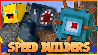 SPEED BUILDERS! NEW! Mineplex Mini Game! W/AshDubh