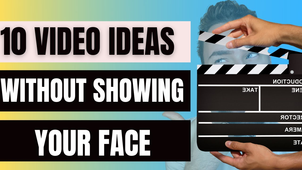Download How to Make Videos without Showing Your Face + 10 Faceless Video Ideas for Your Social Media