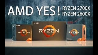锐龙飞升!Ryzen二代首发评测【Ryzen's evolution! R7 2700X & R5 2600X Review】