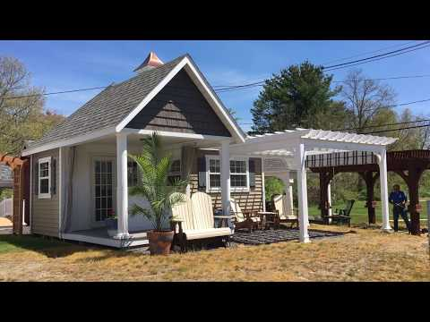 Super Pool House Shed As A Tiny House? This One Is Pretty Awesome!