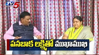 Tirupati TDP Candidate Panabaka Lakshmi Interview | TV5 News