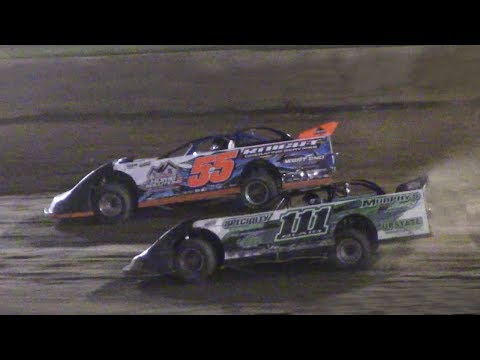 RUSH Crate Late Model Feature | Eriez Speedway | 7-16-17
