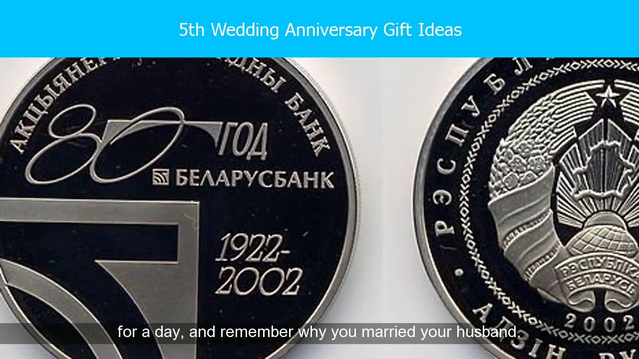 Traditional 5th Wedding Anniversary Gifts For Him Youtube