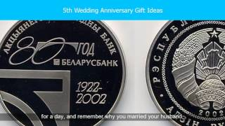 Traditional 5th Wedding Anniversary Gifts For Him