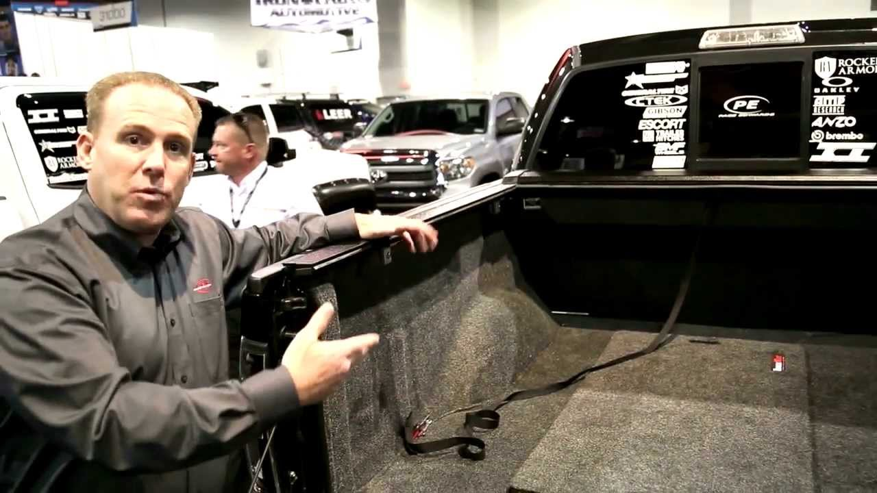 Pace Edwards Switchblade Tonneau Cover Review Sema 2013 Youtube