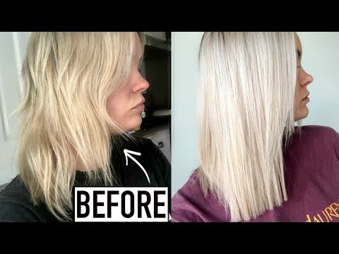 HOW TO FIX DAMAGED HAIR - MY FAVORITES FOR HEALTHY BLONDE HAIR!