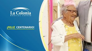Celebración 100 años Gloria Garcia