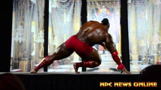 Kai Green Guest Posing at the 2014 St. Louis Pro