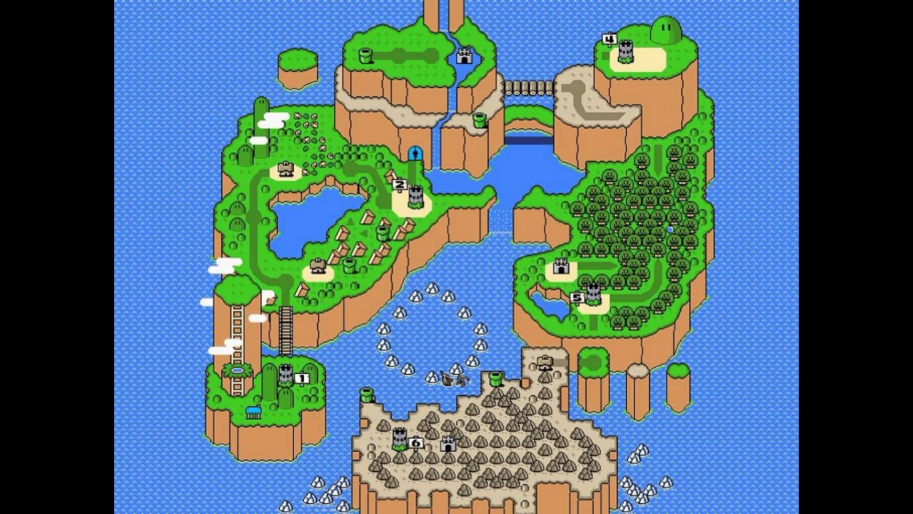 Super mario world music normal medley of world map themes super mario world music normal medley of world map themes vgm medleys 02 youtube gumiabroncs Images