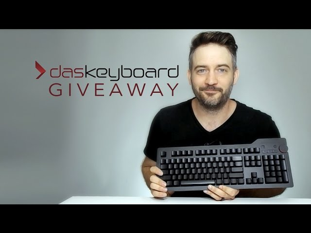 GIVEAWAY - Das Keyboard 4 Ultimate - A beautiful and well-priced mechanical keyboard