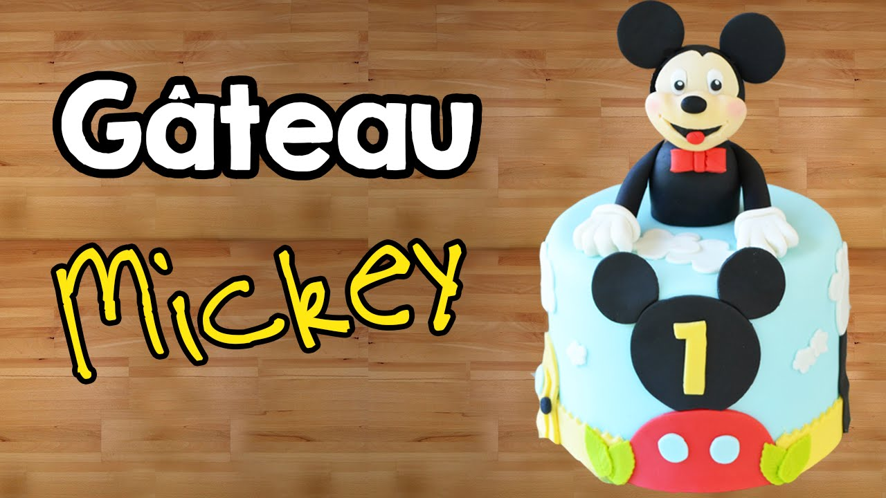 Exceptionnel Gâteau Mickey - Cake Design │ Mickey Mouse Cake │ - YouTube FA02