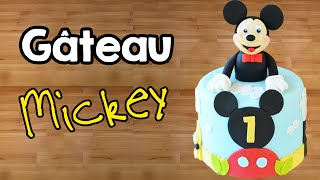 Gâteau Mickey - Cake Design │ Mickey Mouse Cake │