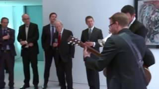 Take Five Till Brönner Barack Obama Angela Merkel Bundeskanzleramt Berlin 17.11.2016