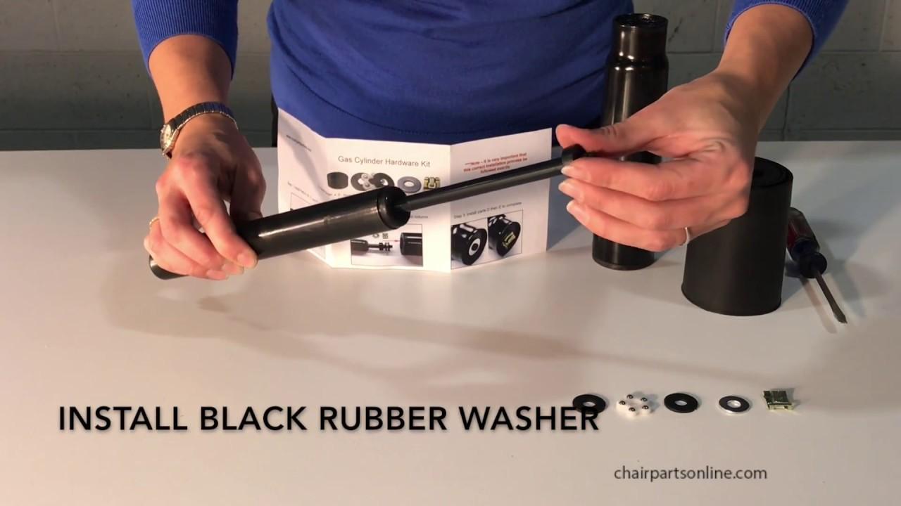 S4451 K Gas Cylinder Hardware Kit Installation Chairpartsonline Youtube