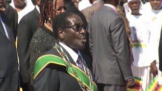 Zimbabwe's Robert Mugabe under house arrest