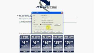 How to Download Rapidshare Links