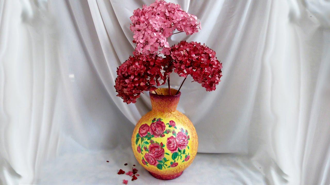 Поделка своими руками - ваза своими руками 5