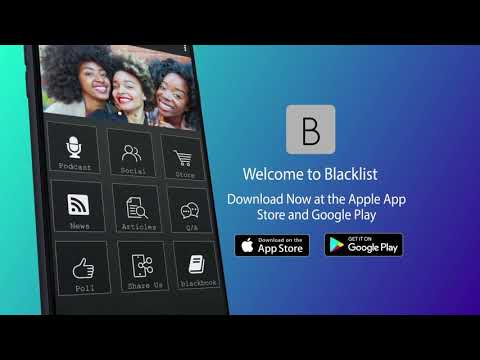 Welcome To Blacklist. Download Now At App Store And Google Play Store.