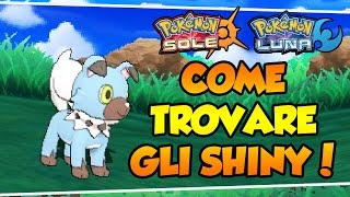 COME CATTURARE POKEMON SHINY SU SOLE E LUNA! - CHAIN TOTEM