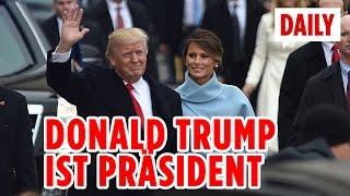 Amtseinführung von Donald Trump - DAILY Live Spezial 20.01.2017