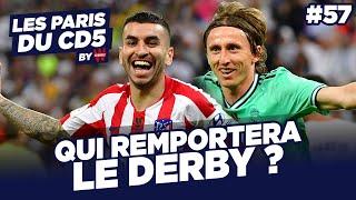 REAL MADRID VS ATLETICO : QUI REMPORTERA LE DERBY ? - LES PARIS DU CD5 BY WINAMAX - #57