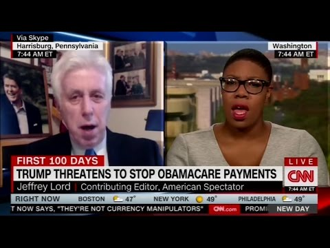 Jeffrey Lord compares Trump to Martin Luther King, Jr.