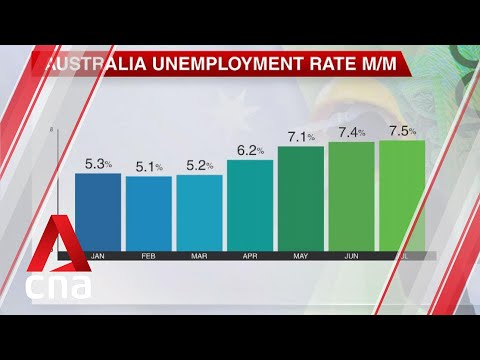 More than one million Australians out of work as unemployment rate rises to 7.5% in July