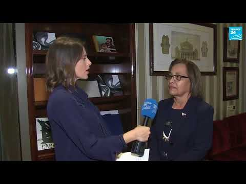 One Planet Summit: Interview with Hilda Heine, president of the Marshall Islands