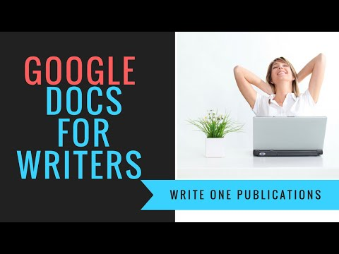 How To Write A Book In Google Docs – The Basics Of Formatting A Manuscript