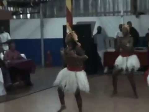 Африканские танцы/ Национальный танец/ Danza africana danza esotica.
