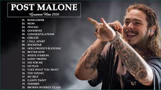 Post Malone Greatest Hits Full Album | Best Music Playlist Of Post Malone - Sunflower, Wow.,Goodbyes