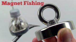 How To Make a Super Magnet for Magnetic Fishing - Neodymium N52