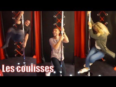 On teste la barre de pole-danse dans les coulisses d'une interview En toute Intimité!