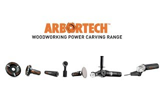 Arbortech Woodworking Power Carving Range