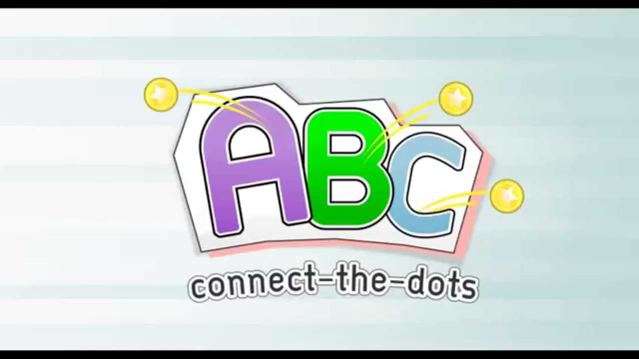 ABC Connect-the-Dots Puzzle For Kids