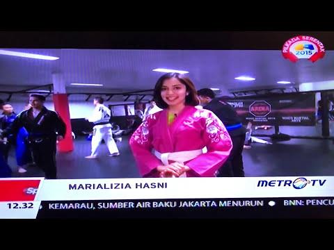 Brazilian Jiu-Jitsu on Sportmagz, Metro TV, Jakarta Part 1