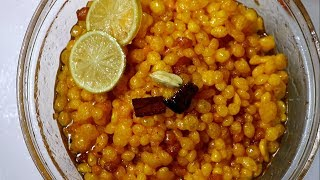 ইফতর রসপ বনদয   ববরচর বনদয রসপ  Sweet Boondia  Borinda Recipe