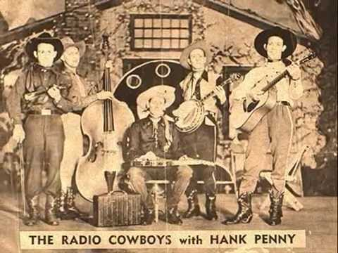 Hank Penny & His Radio Cowboys 'They're All Just The Same To Me'
