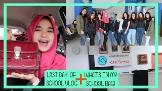 Download Video VLOG?! [26]: Last Day of School😢 + What's In My School Bag!👜 MP3 3GP MP4