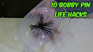 10 Easy Bobby Pin Life Hacks Put to the Test
