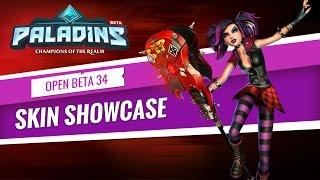 Paladins - :30s Skin Showcase - Open Beta 34