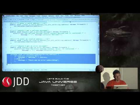 JDD2014: Behaviour driven development, BDD, with Cucumber for Java (T. Sundberg)