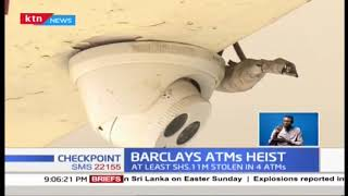 At least Ksh 11M stolen in 4 ATMs